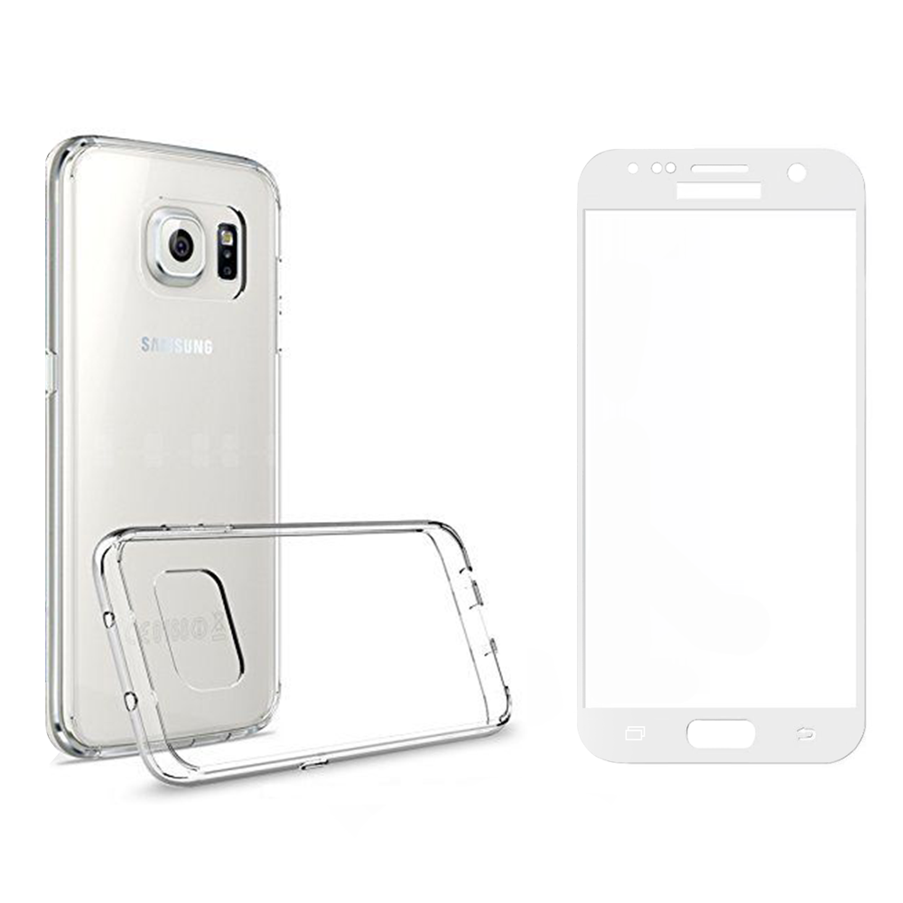 Glass protector with soft edges + Case, Remax Crystal, for