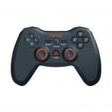 Wireless Gamepad Comigo, Dual Vibration, Black - 13021