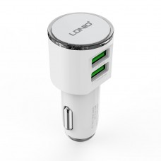 Car charger LDNIO DL-C29 DC12-24V 5V/3.4A, Universal, 3 х USB, with cable - 14271
