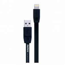 Data cable iPhone Lighting Flat, Remax Full Speed RC-001i, 2m. Black - 14348