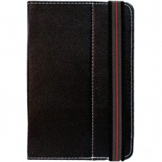 Universal leather case for tablet 7'' black - 14616