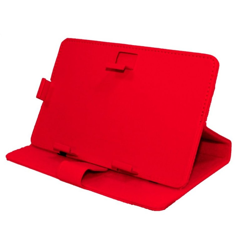 Universal case for tablet 9   020 No brand, red - 14661 - 14661