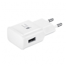 Network charger No brand, Adaptive Fast Charge 5V/1A 220A, 1 x USB, White - 14867