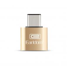 Adapter, Earldom, OT18, USB 3.0 F - Type-C, OTG, Gold - 14866