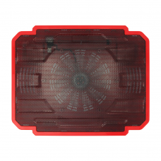 Охладител за лаптоп No brand, 15.6'' ,USB, Червен - 15032
