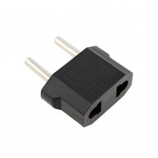 Adapter No brand UK - US to EU Schuko  DT 220V, Universal, Black - 17110