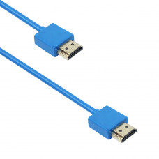 Cable DeTech HDMI - HDMI M/M, 1,5m, Blue - 18135