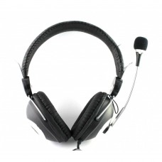 Headsets Ovleng OV-L8007MV for computer with microphone, Black - 20220