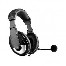 Headset, No Brand, OK-2010, For PC, With microphone, Black - 20360