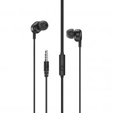 Mobile earphones Remax RW-105, Microphone, Black - 20475