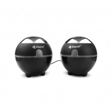 Speakers Kisonli S-999, 3W*2, USB, Black - 22040