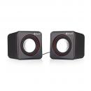 Speakers Kisonli V400, 3W*2, USB, Black - 22043 - 22043