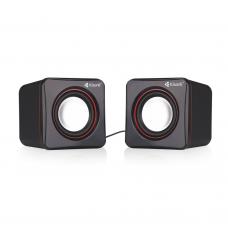Speakers Kisonli V400, 3W*2, USB, Black - 22043