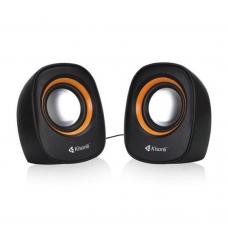 Speakers Kisonli V360, 1.5W*2, USB, Multicolor - 22046