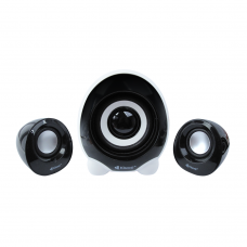 Speakers, Kisonli U-2300, 5W+3W*2, USB, Black - 22057