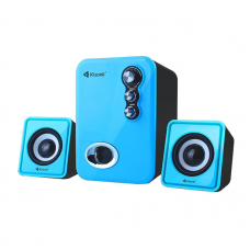Speakers, Kisonli U-2100, 5W+3W*2, USB, Different colors - 22058