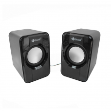 Speakers Kisonli S-444, 2x3W, USB, Black - 22060