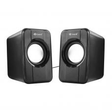 Speakers Kisonli S-444, 2x3W, USB, Black - 22060