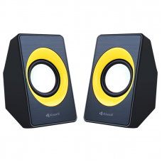 Speakers, Kisonli, A-303, 2x3W, USB, Different colors - 22086