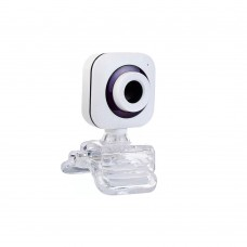 Webcam Kisonli PC-1, Microphone, 480p, White - 3046
