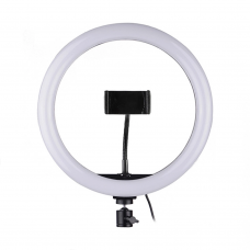 LED Ring light No brand M26, 26cm, 20W, Black - 40127
