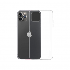 Silicone case No brand, For Apple iPhone 11 Pro, Slim, Transparent - 51699