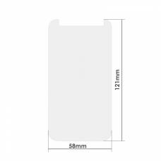 """Универсален стъклен протектор, No brand, За 4.3"""", 0.26mm, Прозрачен - 52262"""