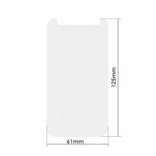 Universal glass protector DeTech, For 4.5