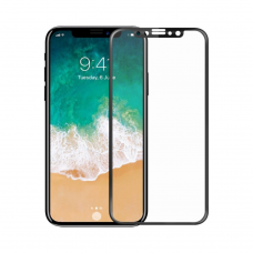 Tempered glass Mocoson, for iPhone 11/XR, 5D, Full Glue, 0.3mm, Black - 52636