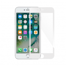 Tempered glass Mocoson, for iPhone 7/8 Plus, 5D, Full Glue, 0.3mm, White - 52640