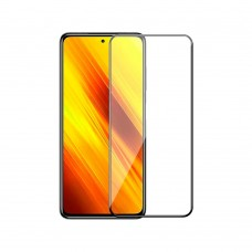 Fullscreen tempered glass No brand, For Xiaomi Pocophone X3, 3D Full Glue, 0.3mm, Black - 52672