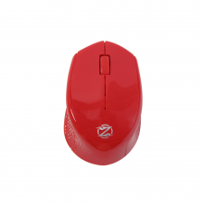 Mouse, ZornWee W770, Wireless, Red - 636