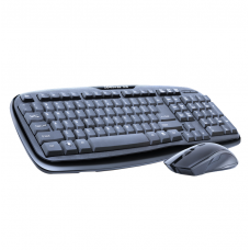 Combo mouse and keyboard, ZornWee WK-310, Wireless, Waterproof, Black - 6070