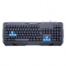 Gaming keyboard, ZornWee Resident Evil, USB,  Black - 6072
