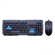Gaming combo mouse and keyboard, ZornWee Resident Evil, Black - 6076