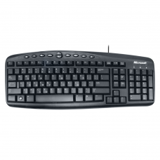 Multimedia Keyboard, Microsoft Wired 500, PS2, Greek Layout, Black - 6078