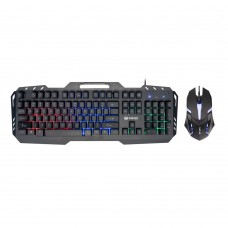 Gaming combo Mixie X8000, Black - 6125