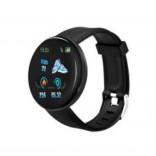 Smartwatch No brand D18, 44mm, Bluetooth, IP67, Black - 73051