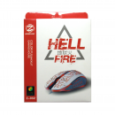 Gaming mouse, ZornWee Hell FIre, Optical, Black - 979 - 979