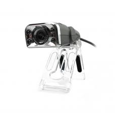 Web camera Kisonli K-C130, With microphone and USB, Black - 3024