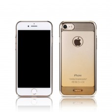 Protector for iPhone 7/7S, Remax Nora, TPU, Gold - 51444