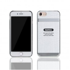 Protector for iPhone 7/7S, Remax, +Magnetic stand RM-C19, TPU,  White - 51464
