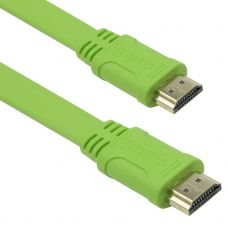 Cable No brand HDMI HDMI M/М, 5m, Flat, 3D, Full HD - 18172