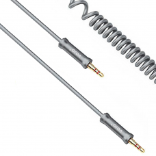 Audio cable No brand 3.5mm, M/M with metal head  1m - 18233