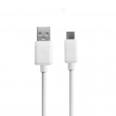 Data cable, DeTech, USB - USB Type-C, 2.0A, 1.0m - 18288