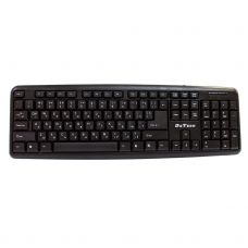 Keyboard DeTech KB300S PS2, Cyrillic, Black - 6030