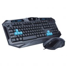 Gaming combo mouse and keyboard, ZornWee GuildWars, Black - 6056