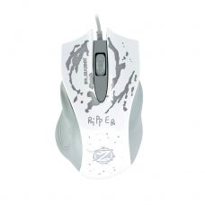 Gaming mouse, ZornWee Ripper, Optical, White - 974