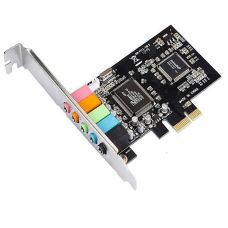 Sound card DeTech, 5.1 channels No Brand  CMI 8738 PCI-E - 17483