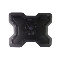 Охладител за лаптоп No brand, 15-17'', 2xUSB, Черен - 15012